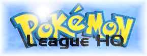 The NEW PokŽÈon League HQ Logo